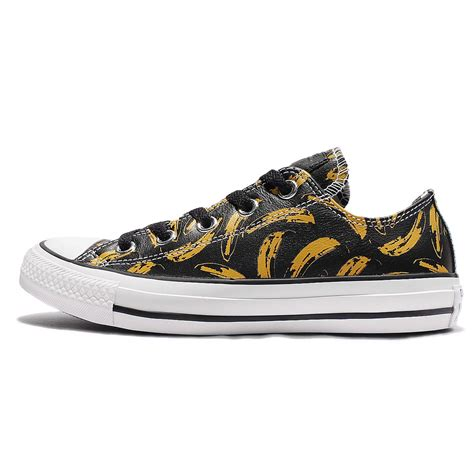 Converse Low With Box converse chuck all low andy warhol banana aop