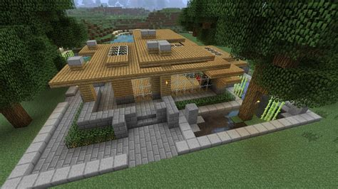 minecraft survival house tutorial minecraft tutorial hd modern survival house 2 minecraft project