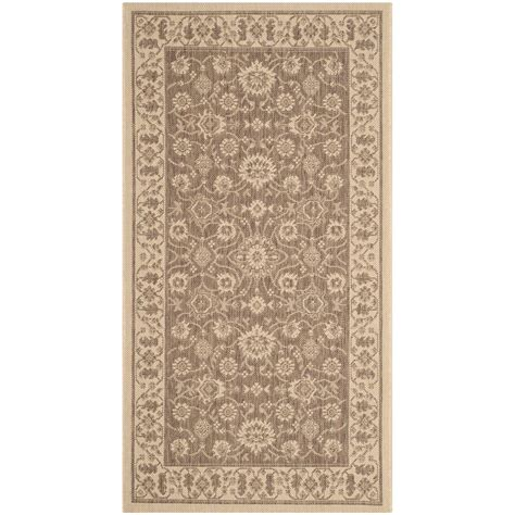 safavieh cy6126 39 courtyard indoor outdoor area rug gold lowe s canada safavieh courtyard brown 2 ft 7 in x 5 ft indoor outdoor area rug cy6126 22 3 the