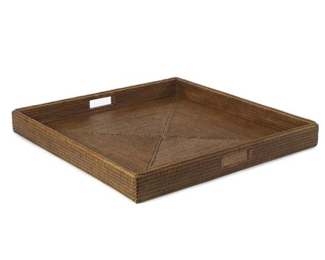 Oversized Ottoman Tray Hapao Oversized Square Tray Williams Sonoma