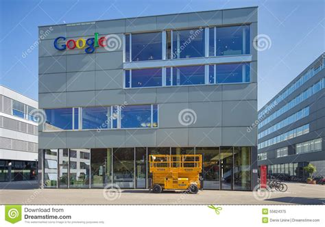 google zurich google office in zurich editorial image image 55824375