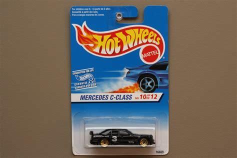 Hotwheels Mercedes C Class wheels 1997 editions mercedes c class black