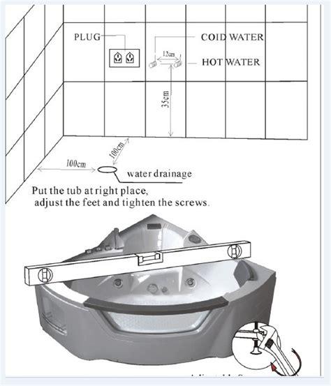 vasca da bagno 2 posti vasca idromassaggio 135x135 2 posti vasche da bagno opt