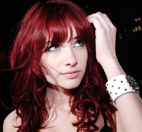 red hair color daring red hair color ideas