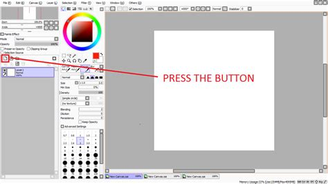 paint tool sai how to select all layers layers on sai how to draw on sai