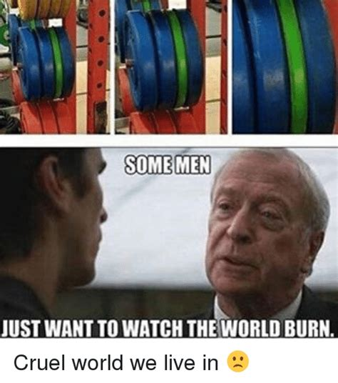 Cruel Meme - 25 best memes about world burn world burn memes