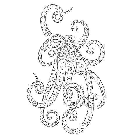 tentacle tattoo octopus tentacles drawing tribes dai forma ai