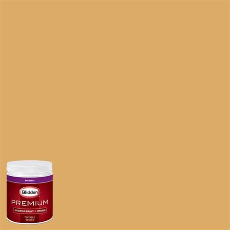 glidden team colors 8 oz cfb 201e ncaa of arkansas pine bluff gold interior paint