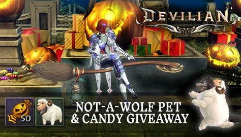 Halloween Giveaways Not Candy - devilian mmorpg com