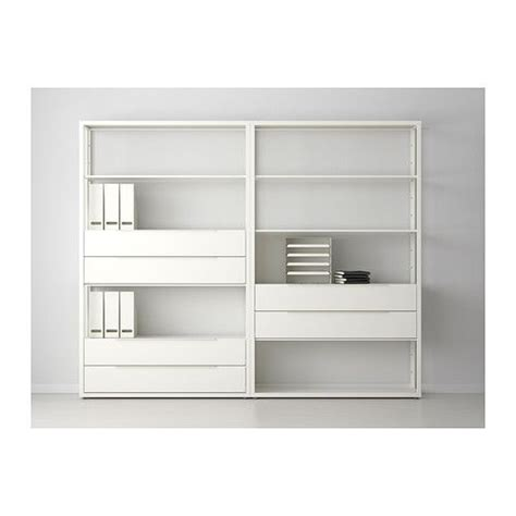 ikea fjalkinge hack fj 196 lkinge shelving unit with drawers ikea 236cm w x