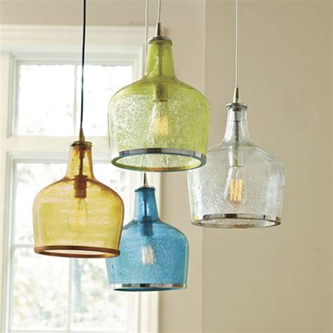 Glass Pendant Lights For Kitchen Island Addie Pendant Contemporary Pendant Lighting By Ballard Designs