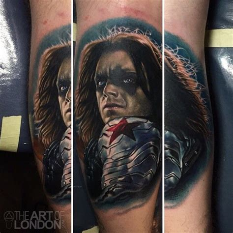 winter soldier tattoo a of the winter soldier from captain america