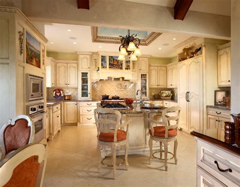 Chateau Kitchen by Formal Chateau Kitchen Culbertson Durst Interior Design Home Decor