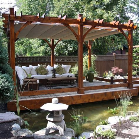 Pergolas Lowes Canada Bz1220wrc 12 Ft X 20 Cedar Breeze Metal Pergola Lowes