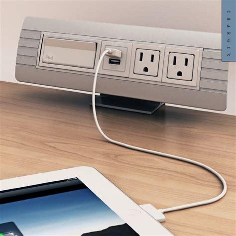 Usb Kabel Charger Transmisi Data Desktop power data cable management modules enhance your desktop