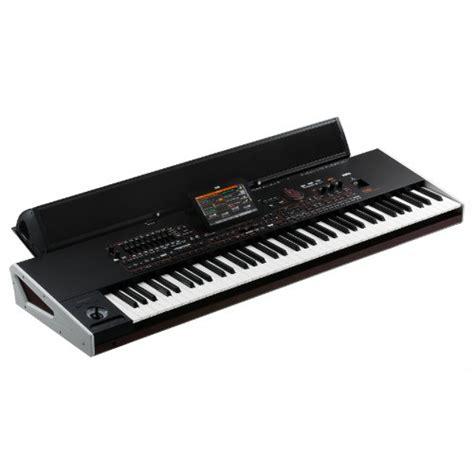 Keyboard Korg Pa4x korg pa4x 76p keyboard with korg paas speakers and yamaha l7s stand at promenade