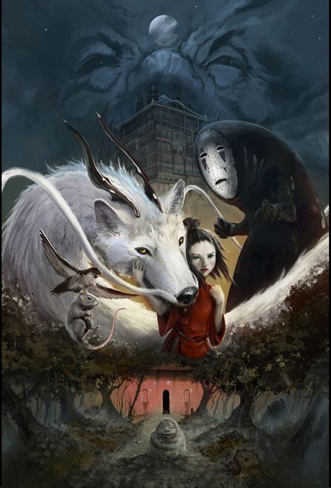 film fantasy anime fantasy spirited away 2d digital anime concept art