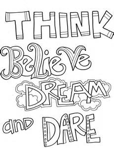 quote coloring pages inspirational quotes coloring pages for adults