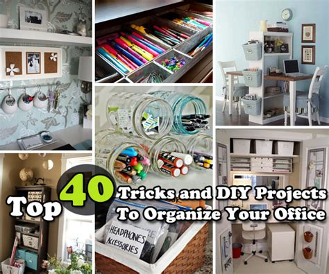 Bathroom Craft Ideas by Top 40 Tricks And Diy Projects To Organize Your Office