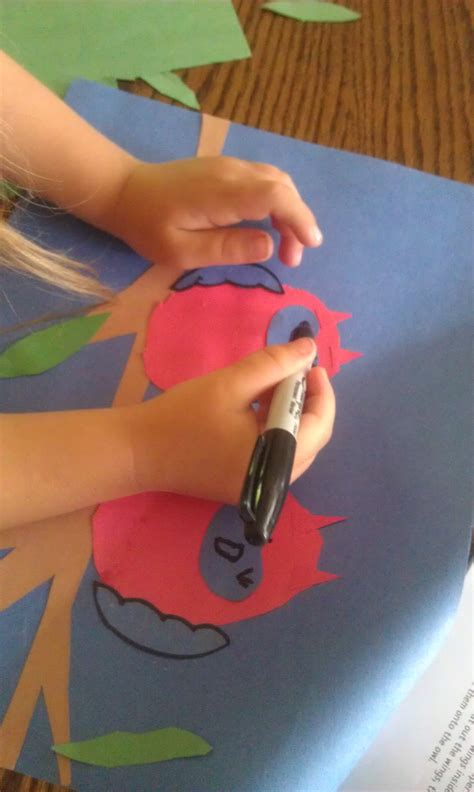 Craft Drawing Paper - drawing paper craft owl faces woo jr activities