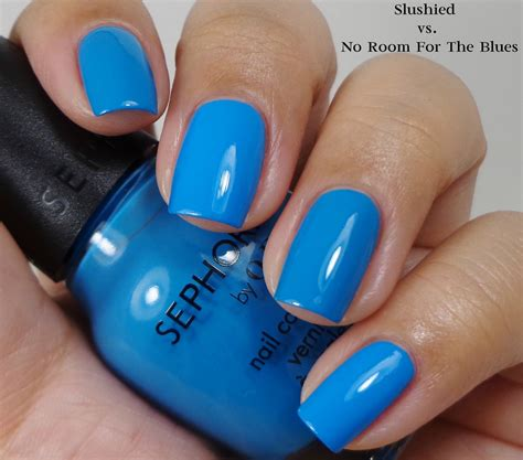 opi no room for the blues sephora by opi slushied of and lacquer