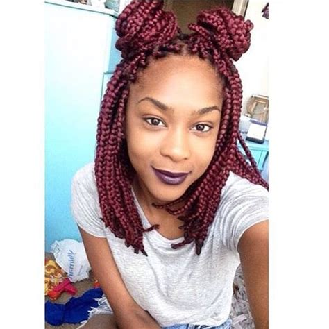 20 epic blonde red burgundy box braids to try burgundy box braids jumbo burgundy box braids youtube