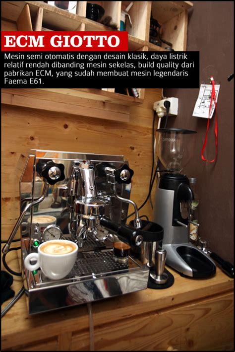 Mesin Brewing Kopi mesin espresso untuk warung kopi 2 cikopi