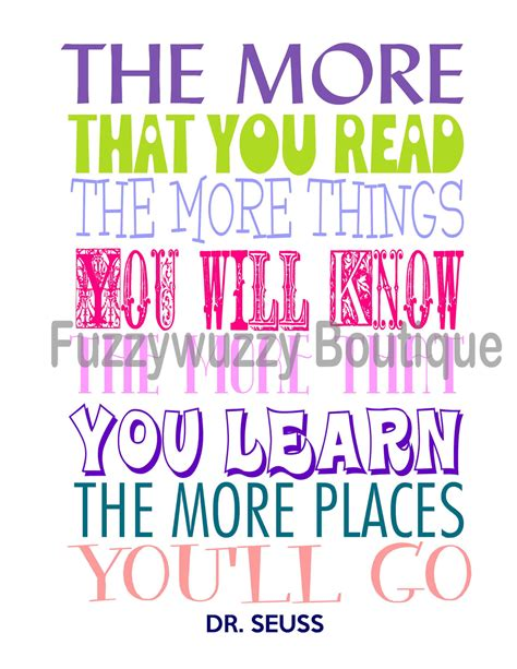 printable dr seuss reading quotes dr seuss quotes reading quotesgram