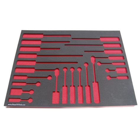 Foam Drawer Organizers by Foam Organizers For Shadowing Craftsman Screwdrivers