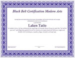 martial art certificate template microsoft word templates