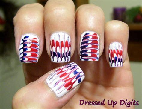 nail art needle pen tutorial 30 flashing patriotic 4th of july fireworks inspired nail