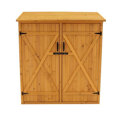 4 X 4 Storage Shed by Leisure Season 4 Ft 11 In X 2 Ft 7 In X 5 Ft 4 In