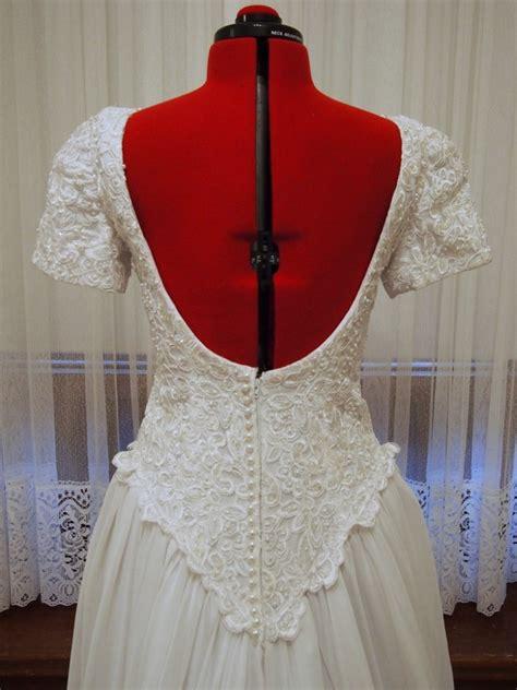 Vintage Wedding Aisle by Beaded A Line Vintage Wedding Dress Eleanor Vintage Aisle