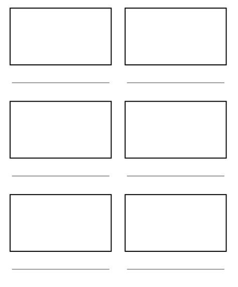 free template 2x3 card ipadpapers story board paper templates
