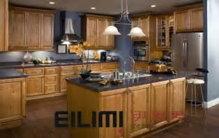 china lancaster toffee glaze maple kitchen cabinet em073