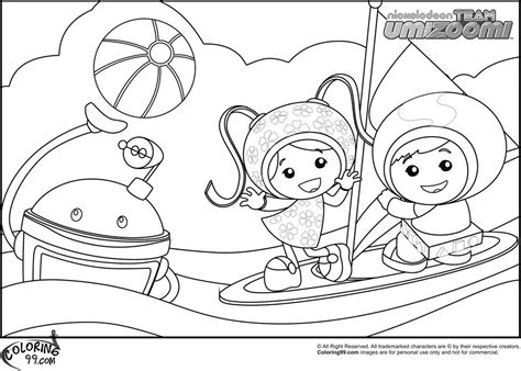 umizoomi coloring pages pdf forms team umizoomi coloring pages printable awareness