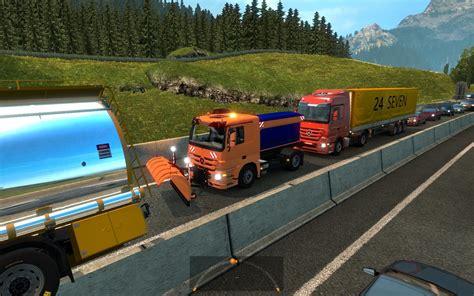 mod for ets2 game modding big traffic mod v1 23 ets 2 euro truck simulator 2 mods