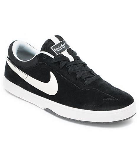 Jual Nike Eric Koston 1 nike sb eric koston 1 lunarlon black white skate shoes zumiez