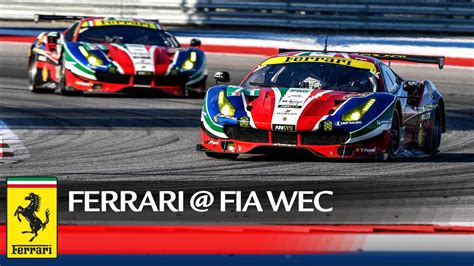 Ferrari World Working Hours by Wec The Double Ferrari Podium At The 6 Hours Of Cota