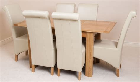 ivory dining table and chairs hton extending solid oak dining table and 6 ivory