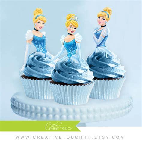 Topper Cake Topper Cupcake Disney Princess cinderella cupcake toppers princess cinderella disney