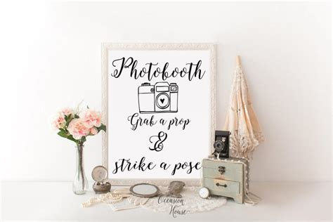 Wedding Photo Booth by Printable Photo Booth Sign Wedding Photo Booth Sign
