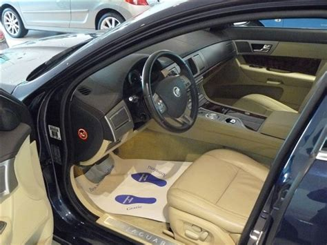 interni per cer interni jaguar xf blue interni beige 2009