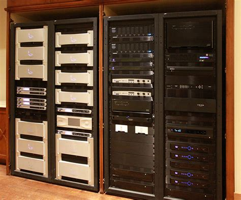 Home Theater Rack System by Surrounded By Sound In The Top Winning Home Theater