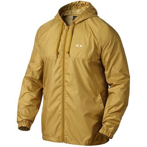 Jaket Outerwear Wanita Golfer 667 Oakley Mens Dally Windbreaker Jacket Golf Sports Zip