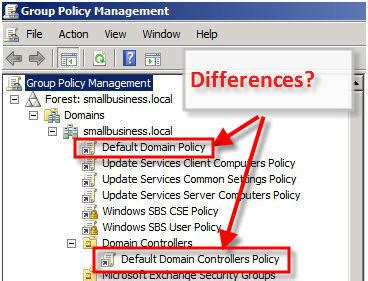 security   set group policy  windows server