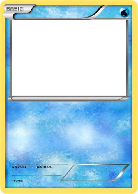 water type card template bw water basic card blank by the ketchi on deviantart