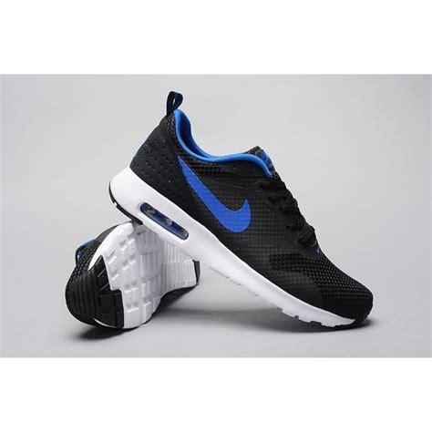mens air max running shoes nike air max tavas mens running shoes black blue factory