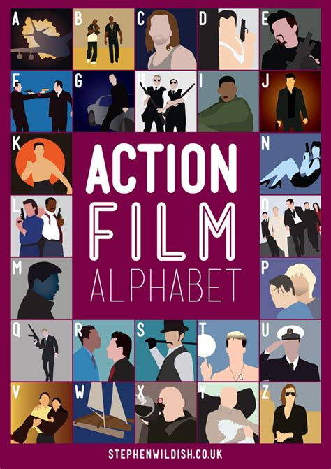 film quiz action the action film alphabet poster will quiz your action film