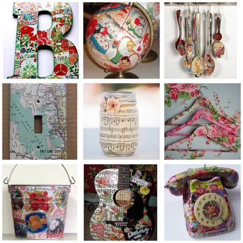 Idea Decoupage - ideas decoupage decopage ideas con decoupage